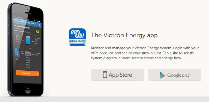 Victron VRM App